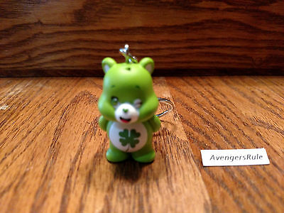 Care Bears Vinyl Keychain Series KidRobot Good Luck Bear 3/48
