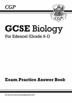 New GCSE Biology: Edexcel Answers (for Exam Practice Workbook) by CGP Books