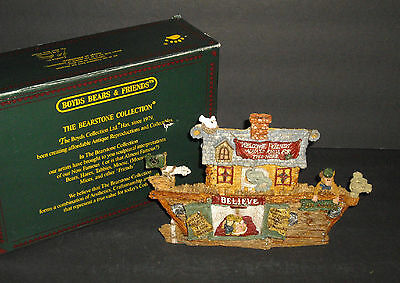 1995 Boyds Bears Bearstone Collection SS Noah The Ark New in Box