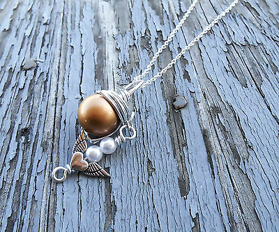 Final Fantasy 7 Gold Cloud Strife Necklace Gold Materia Pendant FF7 Jewelry Gift