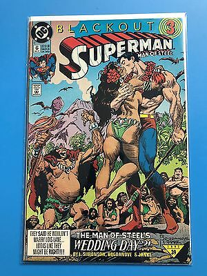 SUPERMAN THE MAN OF STEEL # 6 (DC Comics 1991) HUGE LOT (Can Combine Postage)