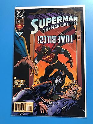 SUPERMAN THE MAN OF STEEL # 41 (DC Comics 1995) HUGE LOT (Can Combine Postage)