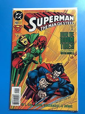 SUPERMAN THE MAN OF STEEL # 43 (DC Comics 1995) HUGE LOT (Can Combine Postage)