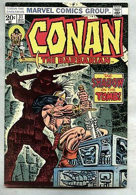 Conan The Barbarian #31-1973 fn+ John Buscema