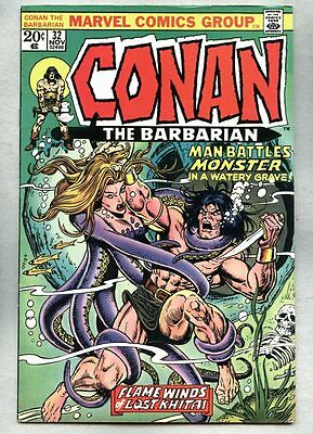 Conan The Barbarian #32-1973 fn John Buscema