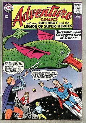 Adventure Comics #332-1965 fn Legion of Super-Heroes / Superboy