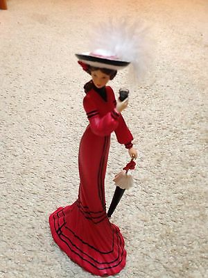 Coca-Cola Figurine Elegance And Poise By Hamilton Collection