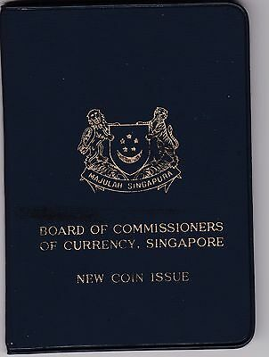 Singapore, Board of Commiussioners of Currency 1968 unc coin set