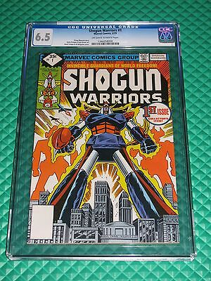 Shogun Warriors #1 CGC Graded FN+ 6.5 OW-White Pages Marvel Trimpe (1979)