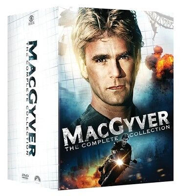 MACGYVER COMPLETE COLLECTION New 39 DVD Set Series Seasons 1-7 1 2 3 4 5 6 7