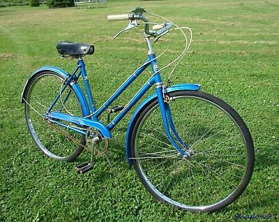 1970 Phillips Ladies 3-Speed Road Cruiser Bicycle Sports Raleigh Bsa England