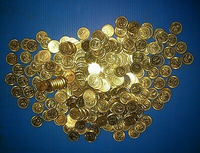 NO CASH VALUE ARCADE TOKENS FREEDOM LOT of 300. VERY NICE