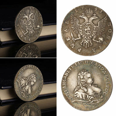Russian Queen Ivan Silver Coin Commemorative Coin Nice Gift Collection