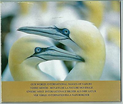 1989 Our World International Images Of Nature Stamp Pack 30 Stamp As See Scan