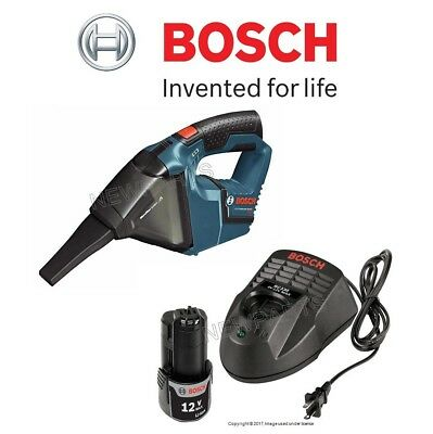 12V Max Cordless Portable Vacuum & Power Tool Battery w/ Charger KIT Bosch
