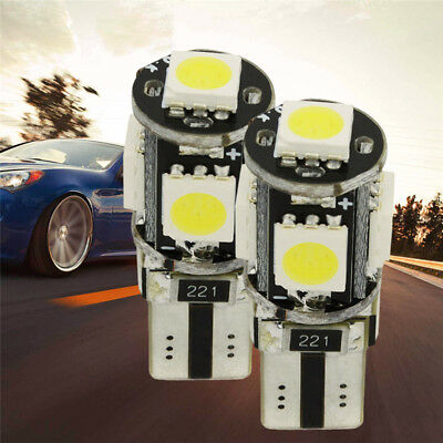 2x LED 5 SMD 5050 W5W Auto Lampe Standlicht Birne CANBUS Leuchte Tools
