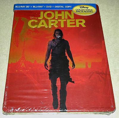 New John Carter VMB 3D+2D Blu-ray/DVD (like Steelbook) Futureshop Exclusive