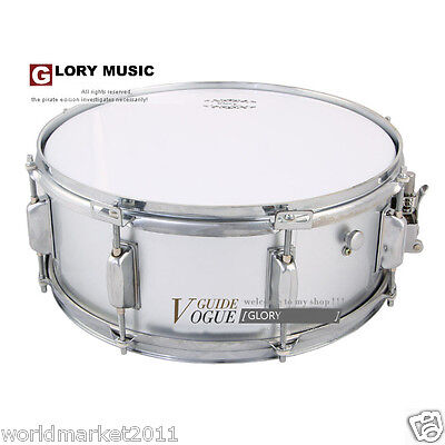 """#10 New Silver Birch 14""""X5.5"""" Top Grade Musical Instruments Snare Drum"""