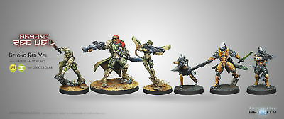 Infinity BNIB Beyond Red Veil Expansion Pack w/ Exclusive Model 280013
