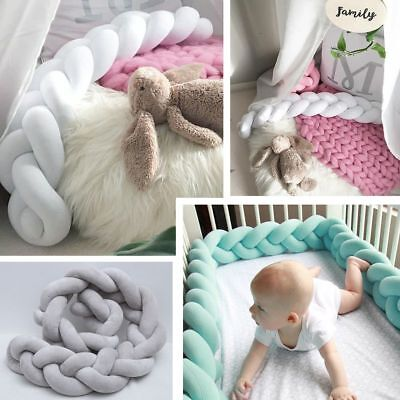 European Concise Soft Knotted Knot Weave Cushion Pillow Throw Baby Bedroom Decor