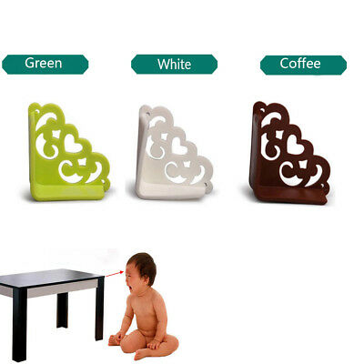 4PCS Baby Hollow Flower Safety Corner Protector Desk Table Bumper Edge Cushion