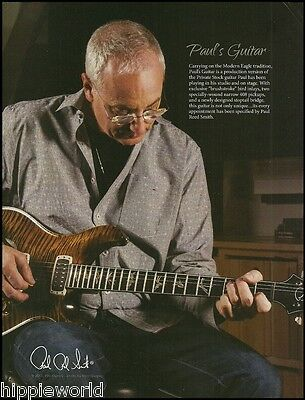 Mr. Paul Reed Smith guitars 2013 ad 8 x 11 PRS guitar advertisement print
