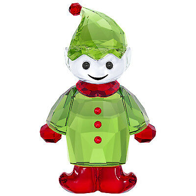 Swarovski Crystal 2017 Santa's Helper 5286532.new In Box