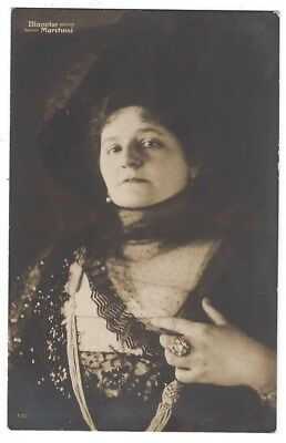 BLANCHE MARCHESI French Opera Singer, RP Postcard, Unused