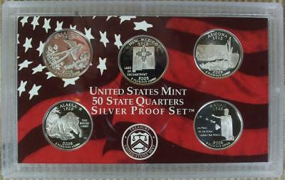 WEEKEND SPECIAL - 2008-S Silver Proof Quarter Set - No Box @ CherrypickerCoins