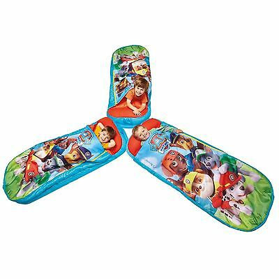Paw Patrol Ready Bed Junior 3 Years + Camping Holiday Travel 100% Official New