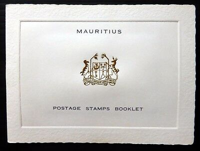 MAURITIUS 1953/63 Official Postage Stamps Booklet with Set SEE BELOW NB2883