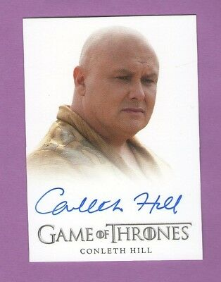 Game of Thrones Season 3: Autograph Card Conleth Hill as Lord Varys