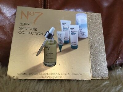 Boots No7 Youthful Skincare Collection Gift Set Protect & Perfect