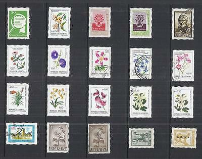 y2158 South America / Argentina A Small Collection  Early & Modern Lhm Used