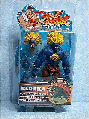 "STREET FIGHTER Series 2_Blue BLANKA 7 "" Variant figure_Exclusive Limited Edition"