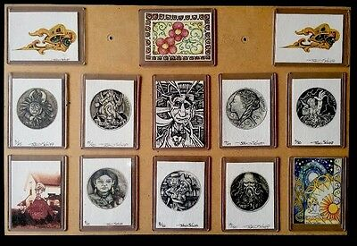 Lot Of 13 Hobo Nickel Art Prints, Signed John Schipp, Numbered,Very Limited Eds