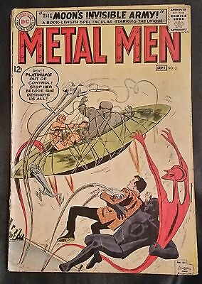 Metal Men # 3 - Dc Comics - Sept. 1963