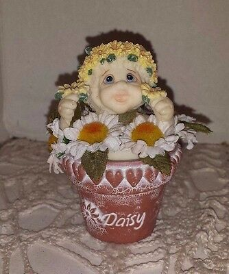 Dreamsicle Daisy collectible figurine Daisy   Daisy in a flower pot