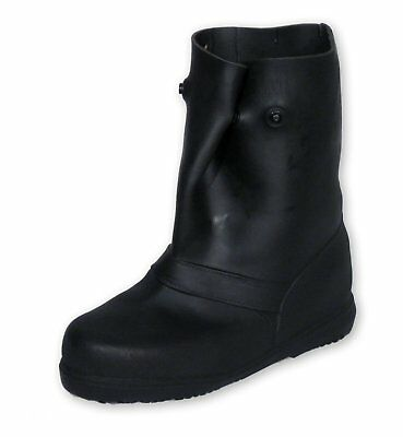 """TREDS 14851 Super Tough 12"""" Pull-On Stretch Rubber Overboots, Medium"""