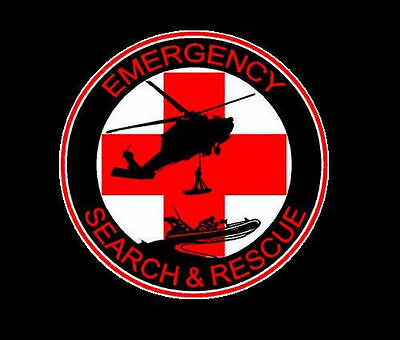 (Pack of 3) Emergency Search & Rescue Team SAR Decal / Sticker  100-60