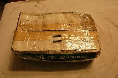 """U-Line 3/4"""" Steel Strapping Seals (Qty of 1000)"""