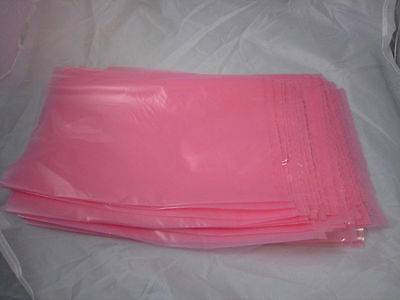 New Lot 25 10 x 14 inch Anti-Static Electronics Bags Large 2 mil Pink Computer