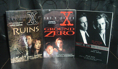 X Files 3 Tpb Lot ~Ground Zero~Trust No One~Ruins ~ Kevin Anderson & Brian Lowry