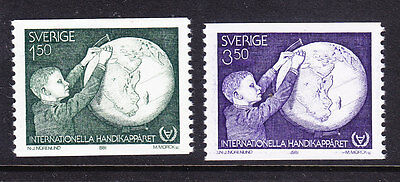 Sweden 1981 - Year of the Disabled - Complete set - MNH