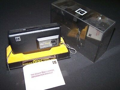 Awesome Vintage Kodak DISC 6000 Camera Outfit AD6R in Original Box