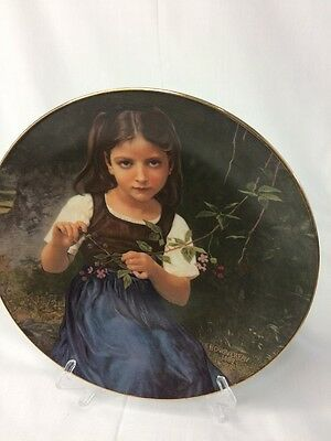 """1979 Royal Cornwall """"LUCIE"""" First Edition of """"THE BEAUTY OF BOUGUEREAU"""" Plate"""