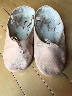 Adult Pink Leather Ballet Shoes, Size 10? Theatricals Brand