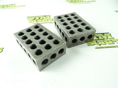 Two Precision 1-2-3 Parallel Machinists Blocks