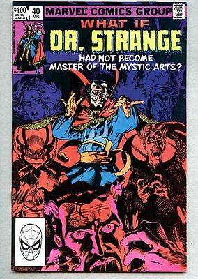 What If? #40-1983 vf/nm What If / Giant / Dr. Strange