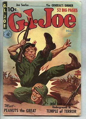 G.I. Joe #14-1951 fn- 5th Issue / Ziff Davis Allen Anderson GI Joe